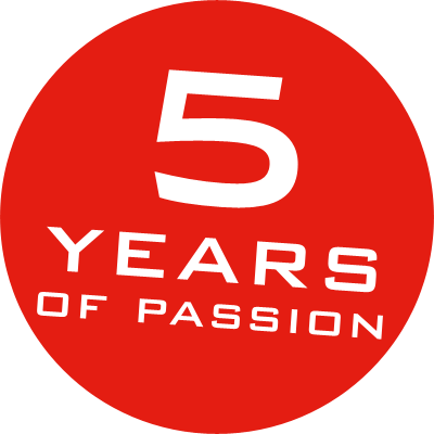 5 years of passion